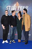 "producer, Aaron Harberts, Jason isaacs, Sonequa Martin-Green and Shazad Latif<br /> at the ""Star Trek Discovery"" photocall, Millbank Tower,  London<br /> <br /> <br /> ©Ash Knotek  D3347  05/11/2017"