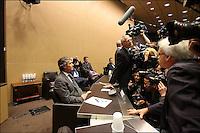26 JUIN 2013 - PARIS - FRANCE - JEROME CAHUZAC AUDITIONNE PAR LA COMMISSION D'ENQUETE PARLEMENTAIRE DE L'ASSEMBLEE NATIONALE