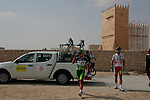 Greenedge Cycling Team riders before the start of the 1st Stage of the 2012 Tour of Qatar running from Umm Slal Mohammed to Doha Golf Club, Doha, Qatar, 5th February 2012 (Photo Eoin Clarke/Newsfile)