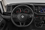 Car pictures of steering wheel view of a 2019 Volkswagen Crafter Base 4 Door Cargo Van