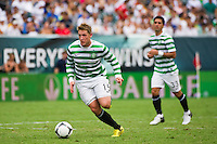 Kris Commons (15) of Celtic F. C.. Real Madrid defeated Celtic F. C. 2-0 during a 2012 Herbalife World Football Challenge match at Lincoln Financial Field in Philadelphia, PA, on August 11, 2012.