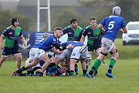 Saturday 10th October 2020 | Ballynahinch vs Queens<br /> <br /> Graham Curtis during the Energia Community Series clash between Ballynahinch and Queens at Ballymacarn Park, Ballynahinch, County Down, Northern Ireland. Photo by John Dickson / Dicksondigital