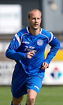 St Johnstone FC.... Season 2010-11.Stewart Duff.Picture by Graeme Hart..Copyright Perthshire Picture Agency.Tel: 01738 623350  Mobile: 07990 594431