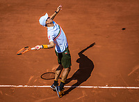 Paris, France, 5 June, 2017, Tennis, French Open, Roland Garros,  Kei Nishikori (JPN)<br /> Photo: Henk Koster/tennisimages.com
