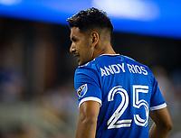 SAN JOSE, CA - SEPTEMBER 4: Andres Rios during a game between Colorado Rapids and San Jose Earthquakes at PayPal Park on September 4, 2021 in San Jose, California.