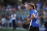 SAN JOSE, CA - AUGUST 8: Cade Cowell #44 of the San Jose Earthquakes during a game between Los Angeles FC and San Jose Earthquakes at PayPal Park on August 8, 2021 in San Jose, California.