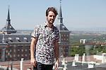 Actor Julian Lopez poses during `El tiempo de los monstruos´ film presentation at EXE Moncloa hotel roof in Madrid, Spain. August 25, 2014. (ALTERPHOTOS/Victor Blanco)