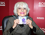 """Carol Channing Signing her new CD Release """"For Heaven's Sake"""" on World Aids Day at Borders Columbus Circle in New York City"""