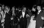 GIANCARLO GIANNINI E MARGHERITA PARILLA<br /> SERATA BENIFICENZA UNICEF   FIRENZE 1980