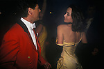 Warwickshire Hunt Ball celebrating the end of the fox hunting season, held at Tysoe Manor Tysoe Warwickshire 1982 1980s UK