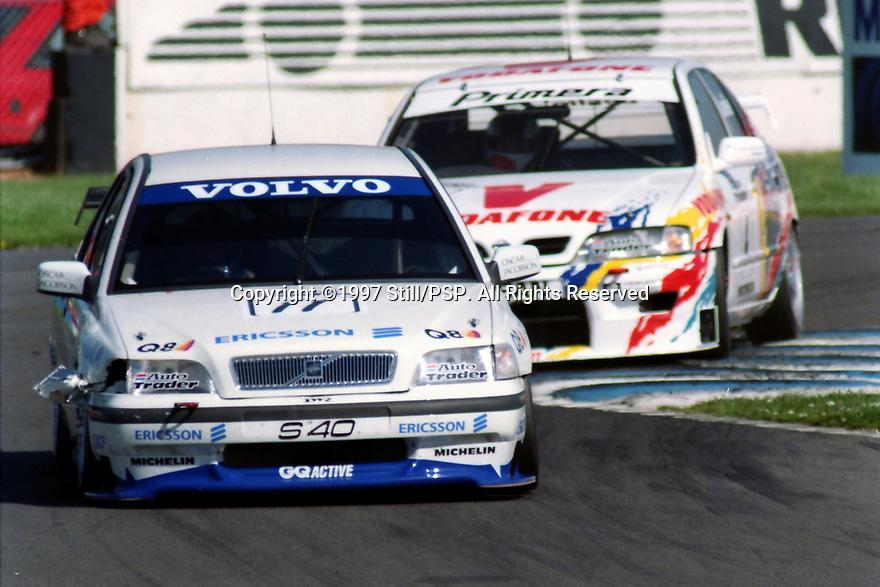1997 British Touring Car Championship. #11 Kelvin Burt (GBR). Volvo S40 Racing. Volvo S40.