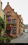 Vlaamsche Pot Restaurant, Helmstraat, Bruges, Brugge, Belgium