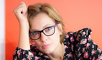 Aiha Cerami, una attrice italiana,  scrittrice; libri, cultura italiana. Figlia di Vincenzo Cerami. Milano 2 ottobre 2019. Photo Leonardo Cendamo/GettyImages
