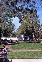 San Diego: Washington Square, Old Town.  Photo '78.