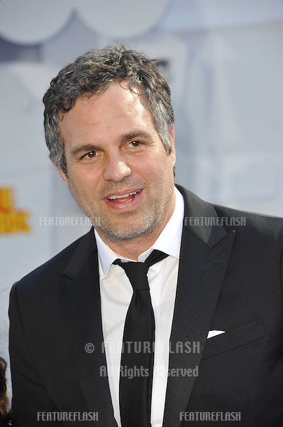 Mark Ruffalo at the 2015 MTV Movie Awards at the Nokia Theatre LA Live.<br /> April 12, 2015  Los Angeles, CA<br /> Picture: Paul Smith / Featureflash