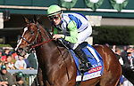 April 11, 2015:  Divining Rod and Julien Leparoux win the 34th running of The Coolmore Lexington Grade 3 $250,000 at Keeneland Race Course for owner Lael Stables and trainer Arnaud Delacour.   Candice Chavez/ESW/CSM