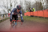 Katie Compton (USA/KFC Racing p/b Trek/Panache) <br /> <br /> Women Elite Race<br /> UCI CX Worlds 2018<br /> Valkenburg - The Netherlands