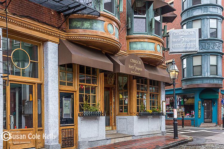 5 North Square restaurant in the North End neighborhood, Boston, Massachusetts, USA