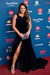 Paula Echevarría attends to the photocall of the Gala Sida at Palacio de Cibeles in Madrid. November 21, 2016. (ALTERPHOTOS/Borja B.Hojas)