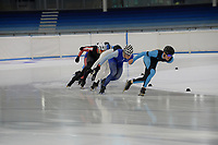 SPEED SKATING: Heerenveen: 09-07-2019, IJsstadion Thialf, training Ice-derby, long track and short track speed skating, ©photo Martin de Jong