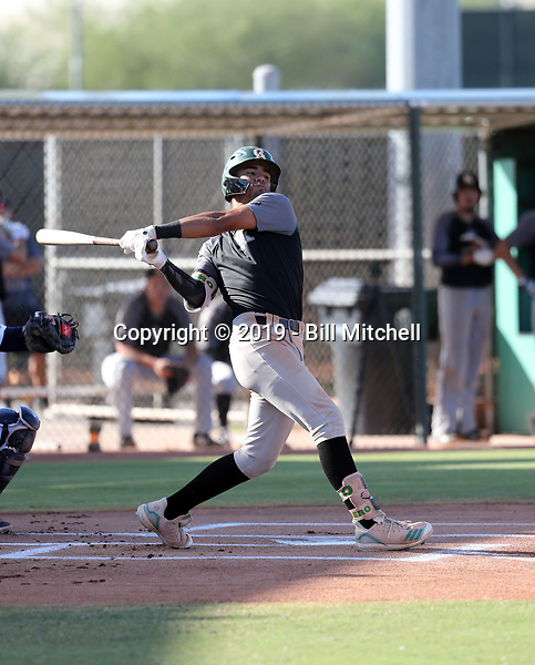 Kiko Romero - 2019 Central Arizona Vaqueros fall season (Bill Mitchell)