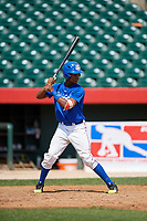 Jeferson Geraldo (11) during the Dominican Prospect League Elite Underclass International Series, powered by Baseball Factory, on August 1, 2017 at Silver Cross Field in Joliet, Illinois.  (Mike Janes/Four Seam Images)