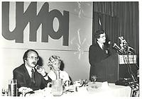 Guy Tardif au congres de l'UMQ, le 28 mars 1978<br /> <br /> <br /> PHOTO :  Agence Quebec Presse