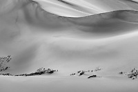 Great Sand Dunes National Park, Colorado.  This is a black and white version of a color image taken before sunrise.<br /> Canon EOS 5D Mk II, 70-200 f/2.8L lens