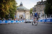 Artjom Mirzojev (EST)<br /> Men Junior Individual Time Trial<br /> <br /> 2019 Road World Championships Yorkshire (GBR)<br /> <br /> ©kramon
