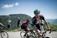 Jay McCarthy (AUS/BORA-hansgrohe) up the Cima Campo climb<br /> <br /> Stage 20: Feltre to Croce D'Aune-Monte Avena (194km)<br /> 102nd Giro d'Italia 2019<br /> <br /> ©kramon