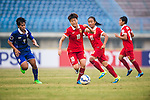 China PR plays against Thailand during the AFC U-16 Women's Championship China 2015 Semi Final match at the Xinhua Road Stadium on 15 November 2015 in Wuhan, China. Photo by Aitor Alcalde / Power Sport Images
