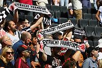 Fans von Eintracht Frankfurt - 06.08.2017: Eintracht Frankfurt vs. FSV Frankfurt, Saisoneröffnung, Commerzbank Arena