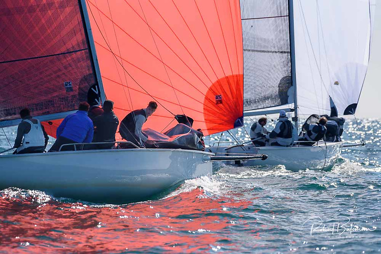 The 1720 fleet will be competing for European honours in Waterford this weekend but are expected to join the Autumn league in subsequent weeks Photo: Bob Bateman