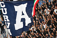 Napoli fans cheer on during the Serie A 2021/2022 football match between ACF Fiorentina and SSC Napoli at Artemio Franchi stadium in Florence (Italy), October 3rd, 2021. Photo Andrea Staccioli / Insidefoto