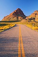 Route 66 in the Black Mountains, near Oatman Arizona