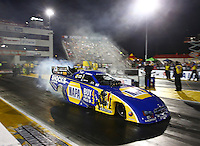 Sep 27, 2013; Madison, IL, USA; NHRA funny car driver Ron Capps during qualifying for the Midwest Nationals at Gateway Motorsports Park. Mandatory Credit: Mark J. Rebilas-