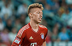 Mitchell Weiser of Bayern Munich in action during a friendly match against VfL Wolfsburg as part of the Audi Football Summit 2012 on July 26, 2012 at the Guangdong Olympic Sports Center in Guangzhou, China. Photo by Victor Fraile / The Power of Sport Images