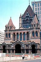 H. H. Richardson: Trinity Church 1872-1877 (in the shadow of its neighbor, The Hancock.)