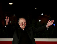 Italian director Dario Argento poses on the red carpet of  the16th edition of the Rome Film Fest in Rome, on October 19, 2021.<br /> UPDATE IMAGES PRESS/Isabella Bonotto