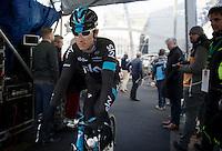 Geraint Thomas (GBR/SKY) on the start podium<br /> <br /> 99th Ronde van Vlaanderen 2015