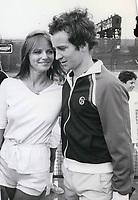 John McEnroe & Cheryl Tiegs 1977<br /> Photo By John Barrett-PHOTOlink.net