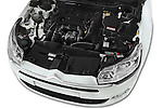 Car Stock 2016 Citroen C5-Berline Business 4 Door Sedan Engine  high angle detail view