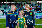 Kilmoyley fans at the Kerry Senior Hurling Championship Final on Sunday in Austin Stack Park were l-r: Donagh Flaherty, Harrison and Matthew Cahill.