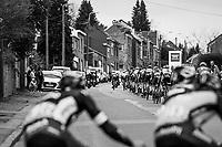 stretched peloton after La Redoute<br /> <br /> 103rd Liège-Bastogne-Liège 2017 (1.UWT)<br /> One Day Race: Liège › Ans (258km)