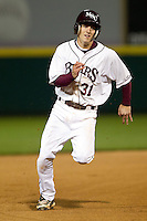 Travis McComack (31) of the Missouri State Bears during a game vs. the Western Illinois Leathernecks at Hammons Field in Springfield, Missouri;  March 18, 2011.  Photo By David Welker/Four Seam Images