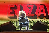 Recife (PE), 22/02/2020 - Carnaval Recife - Elza Soares durante show no Carnaval do Marco Zero do Recife, bairro do Recife; neste sabado (22).. Foto: Pedro de Paula/Codigo 19 (Foto: Pedro De Paula/Codigo 19/Codigo 19)