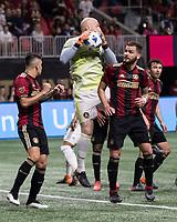 Atlanta, GA - March 17, 2018: Atlanta United FC vs Vancouver Whitecaps FC at Mercedes-Benz Stadium.