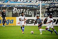 PORTO ALEGRE, (RS), 19.03.2021 - GREMIO - AIMORE – O jogador Guilherme Azevedo, da equipe do Grêmio, na partida entre Grêmio e Aimoré, válida pela 5ªrodada do Campeonato Gaúcho 2021, no estádio Arena do Grêmio, em Porto Alegre, nesta sexta-feira (19).