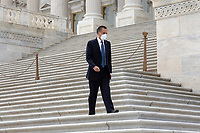 United States Senator Mitt Romney (Republican of Utah) leaves the United States Capitol in Washington D.C., U.S. on Thursday, May 21, 2020. Credit: Stefani Reynolds / CNP/AdMedia