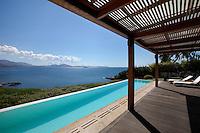 luxury pool area